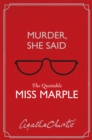 Murder, She Said: The Quotable Miss Marple - eBook
