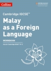 Cambridge IGCSE (TM) Malay as a Foreign Language Workbook - Book