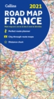 Map of France 2021 : Folded Road Map - Book
