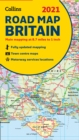 GB Map of Britain 2021 : Folded Road Map - Book