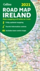 Map of Ireland 2021 : Folded Road Map - Book