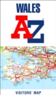 Wales A-Z Visitors' Map - Book