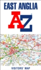 East Anglia A-Z Visitors' Map - Book