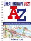 Great Britain A-Z Road Atlas 2021 (A4 Spiral) - Book