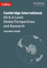 Cambridge International AS & A Level Global Perspectives Teacher's Guide - Book