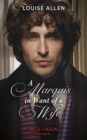 A Marquis In Want Of A Wife (Mills & Boon Historical) (Liberated Ladies, Book 3) - eBook