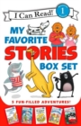 I Can Read My Favorite Stories Box Set : Happy Birthday, Danny and the Dinosaur!; Clark the Shark: Tooth Trouble; Harry and the Lady Next Door; The Berenstain Bears: Down on the Farm; Splat the Cat Ma - Book