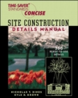 Time-Saver Standards Site Construction Details Manual - Book
