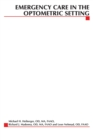 Emergency Care in the Optometric Setting - Book