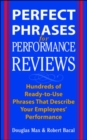 Perfect Phrases for Performance Reviews - Book