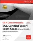 OCE Oracle Database SQL Certified Expert Exam Guide (Exam 1Z0-047) - eBook