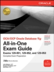 OCA/OCP Oracle Database 11g All-in-One Exam Guide : Exams 1Z0-051, 1Z0-052, 1Z0-053 - eBook