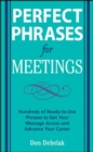 Perfect Phrases for Meetings - eBook