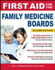 First Aid for the Family Medicine Boards, Second Edition - eBook