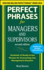 Perfect Phrases for Managers and Supervisors, Second Edition - Book