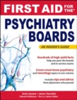 First Aid for the Psychiatry Boards - eBook