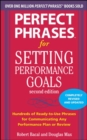 Perfect Phrases for Setting Performance Goals, Second Edition - Book