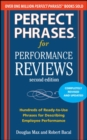 Perfect Phrases for Performance Reviews 2/E - Book