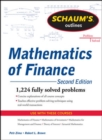 Schaum's Outline of Mathematics of Finance, Second Edition - Book