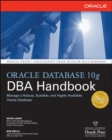 Oracle Database 10g DBA Handbook - Book