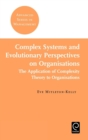Complex Systems and Evolutionary Perspectives on Organisations - Book