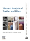 Thermal Analysis of Textiles and Fibers - eBook