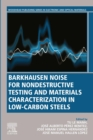 Barkhausen Noise for Non-destructive Testing and Materials Characterization in Low Carbon Steels - eBook
