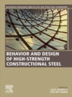 Behavior and Design of High-Strength Constructional Steel - eBook