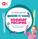 Quick and Easy Toddler Recipes - Book