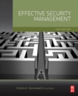 Effective Security Management - Book
