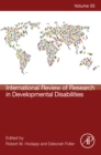 International Review of Research in Developmental Disabilities - eBook