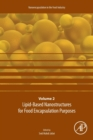 Lipid-Based Nanostructures for Food Encapsulation Purposes : Volume 2 - Book