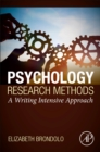 Psychology Research Methods : A Writing Intensive Approach - Book