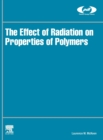 The Effect of Radiation on Properties of Polymers - Book