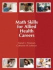 Math Skills for Allied Health Careers - Book