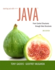 Starting Out with Java : From Control Structures through Data Structures - Book