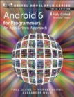 Android 6 for Programmers : An App-Driven Approach - Book