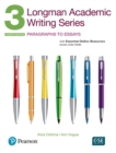 Longman Academic Writing Series 3 SB with online resources - Book