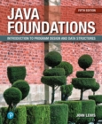 Java Foundations : Introduction to Program Design and Data Structures - Book