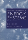 Analysis and Design of Energy Systems - Book