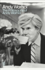 The Philosophy of Andy Warhol - Book