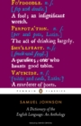 A Dictionary of the English Language: an Anthology : an Anthology - eBook