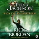 Percy Jackson and the Sea of Monsters : (Book 2) - eAudiobook