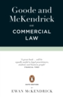 Goode and McKendrick on Commercial Law : 6th Edition - eBook