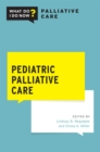 Pediatric Palliative Care - eBook