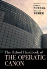 The Oxford Handbook of the Operatic Canon - Book