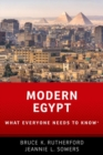 Modern Egypt : What Everyone Needs to Know (R) - Book