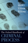 The Oxford Handbook of Criminal Process - Book