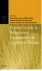 Oxford Guide to Behavioural Experiments in Cognitive Therapy - eBook