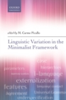 Linguistic Variation in the Minimalist Framework - eBook